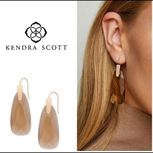 Kendra Scott Maize Drop Earrings-RSG Smoky